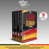 Learn German for Beginners: 4 in 1 Bundle: German Short Stories + German Dialogues +1,000 Most Common German Words and Phrases. 90 Language Lessons to Learn German in Your Car