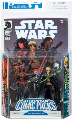 Star Wars – Comic Packs – Darth Talon + Cade Skywalker