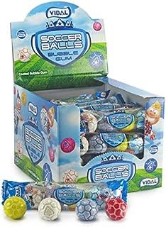 Vidal Soccer Balls Bubble Gum 24-4packs