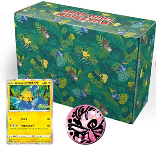 Pokemon Card Game Sword & Shield Okoya Forest Celebi and Zarude 105/s-p Japan Limited Box
