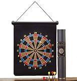 PrimeTrendz Large Magnetic Dartboard Dart Board Game W/6 Darts
