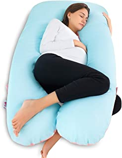 Meiz Pregnancy Pillow U Shaped, Body Pillow for Pregnant Women Back Support with Zipper..