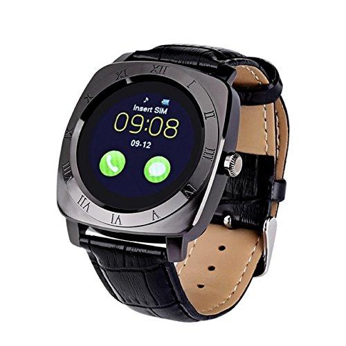 The Elite X3 Smartwatch mit 3,4 cm (1,35 Zoll) IPS-Display, Kamera, Schrittzähler, 32 GB, externes Uhrengehäuse, Legierung, wasserdicht, RAM: 32 MB ROM: 32 MB
