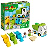 LEGO DUPLO Town Garbage Truck and Recycling 10945 Educational Building Toy; Recycling Truck for Toddlers and Kids; New 2021 (19 Pieces)