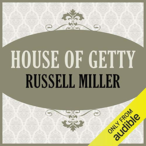 House of Getty audiobook cover art