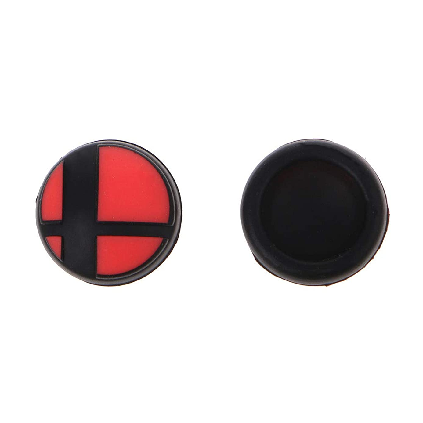 huanban072 1 Pair Analog Thumb Stick Silicone Skin Grips Anti-Skid Joy Con Caps Thumbstick Cap Replacement for Nintendo Switch NS Console Controller