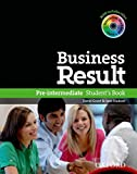 Business Result DVD Edition - Pre-Intermediate: Student's Book with DVD-ROM and Interactive or Online Workbook