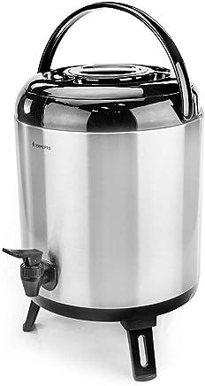 Botijão Térmico Aço-Inox Termopro Aço Inox 10L