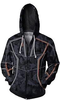 2019 American Film Iron Man Tony Stark WEIYI Avengers Foreign Trade Hoodie 3D Sweater Men's Jacket