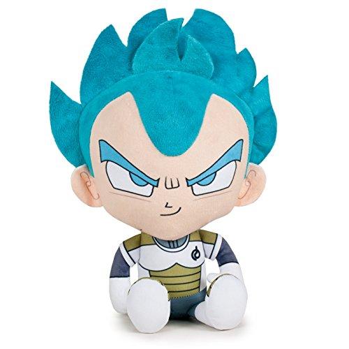 Play by Play OUSDY - Peluches Personajes Dragon Ball Super 760016800 22CM 4MODELOS (Vegeta Super Saiyan Dios)