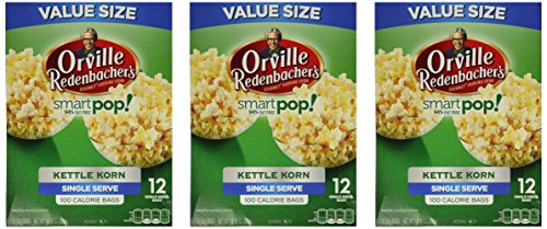 Check Out This Orville Redenbacher Smart Pop Kettle Korn Mini Bags, 12-Count (Pack of 3)