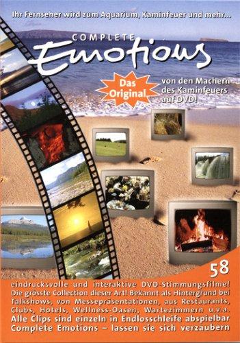 COMPLETE EMOTIONS - 58 Filme - Ihr Fernseher wird zum Aquarium, Kaminfeuer und viel mehr