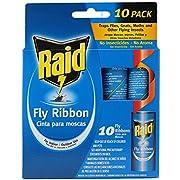 RAID PCOFR10BRAID, Fly Ribbon, 10-Pack