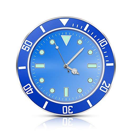 YanFeng - Reloj de cuarzo para coche, reloj de salpicadero de coche, con clip de salida de aire acondicionado para moto de bicicleta