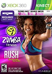 commercial Zumba Fitness Rush – Xbox 360 game for kinect