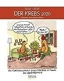 Krebs 2020: Sternzeichenkalender-Cartoonkalender als Wandkalender im Format 19 x 24 cm.