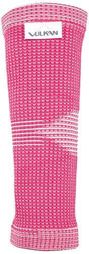 Vulkan Rosa Advanced Elastic Elbow Support für Frauen, Kompression Stützhülse, Padded Stabihalter, benutzt für Muscle Relief, Tendonitis, Tennisarm, Golferellenbogen, Arthritis