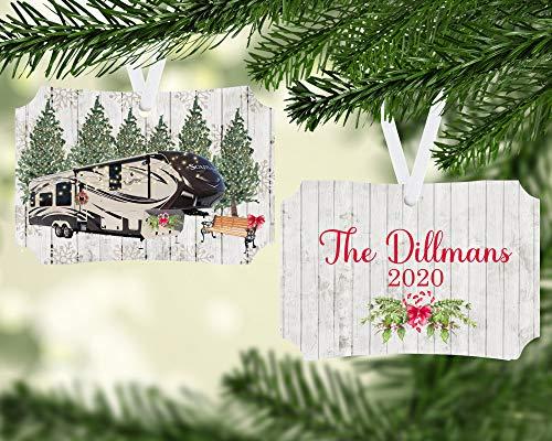 Lplpol Grand Design Solitude 5th Wheel Camper Christmas Ornament Camper Ornament Camping Ornament Christmas Camper Camping Gift Camper Gift Tree