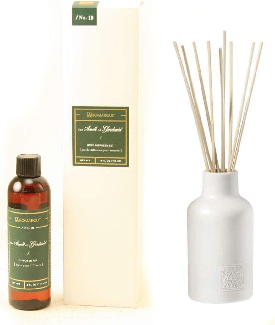 Aromatique Smell セール特価 of Gardenia 正規取扱店 Reed Ceramic Diffuser Set Gift Vess