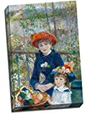 Unbekannt Große Renoir Zwei Schwestern auf der Terrasse