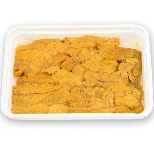 国華園 チリ産 無添加 うに 100g×3パック ミョウバン不使用 S〜Mサイズ 生食用 冷凍便