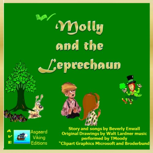 Molly and the Leprechaun audiobook cover art