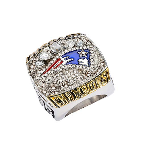 Beito Super Bowl Champion Ring Football Patriot Superbowl Rings Replica Creative Ring para Mujeres y Hombres
