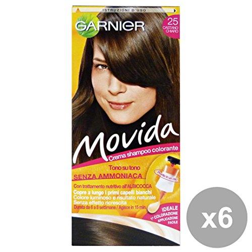 GARNIER Set 6 Movida 25 Braun Klar Ohne Ammoniak Produkte Für Haare