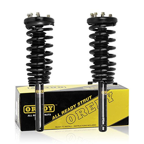 OREDY Shocks and Struts Front Pair Complete Struts Assembly Coil Spring Suspension Shocks Struts 171691R 171691L 11092 11091 Compatible with Accord 1998 1999 2000 2001 2002