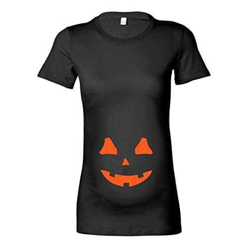 8443af540a6d4 Womens Maternity 'Pumpkin Bump' Halloween T-Shirt