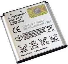 Sony Ericsson Original li-Poly Battery for Sony Ericsson C510, C902, C905a, K850i, W580i, W760a, W995a, and T303