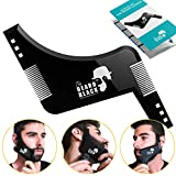 Peigne pochoir barbe homme, Beard Shaping Template Tool & Comb, qualité supérieure...