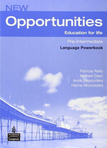 New Opportunities Pre-Intermediate. Language Powerbook