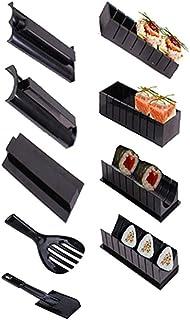 Sushi Maker Kit, 10pcs DIY Sushi Making Kit Roll Sushi Maker Rice Roll Mold for Kitchen DIY