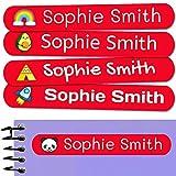 50 Etiquetas Adhesivas Personalizadas, de 6 x 1 cms, para marcar objetos,...