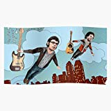 Flying Indie Conchords Folk Flight Comedy Band Concords Trendy Poster for Wall Art Home Decor Room