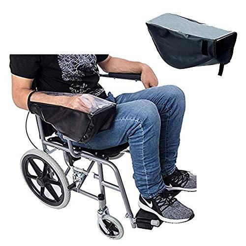 HEWYHAT Elektro Rollstuhl Zubehör, wasserdichte Power Rollstuhl Arm Joystick Abdeckung, elektrischer Rollstuhl-Schutz, hält trocken