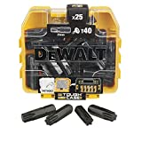 DeWalt DT70559T-QZ - Piccola scatola di punte Impact Torsion, 25 x T40 25 mm, per trapano ...