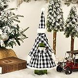 RIsxfh122 1 juego de funda de botella de disfraz de Navidad,...