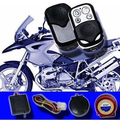 OCS.tec Motorrad/Roller Alarmanlage Funk Wegfahrsperre Fernstart Bike Quad LM-207A AL1