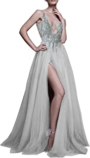 applique evening dress