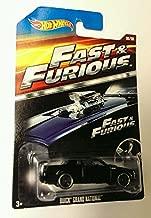 Hot Wheels Fast & furious Movie car BUICK GRAND NATIONAL 06/08 Rare
