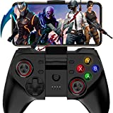 RUNMIND Controlador de juego móvil inalámbrico Bluetooth Gamepad, botón inalámbrico Mapping Gamepad Joystick, muy adecuado para varios juegos, compatible con Android, IOS