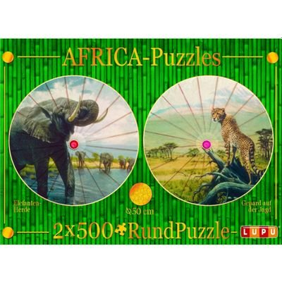 Lupu 1087 - Fantasy Puzzle Elfe (500 Teile)