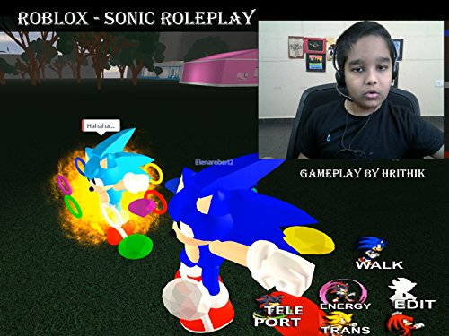 Clip: Roblox - Sonic Roleplay gameplay by Hrithik