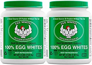 Liquid Egg White Protein - 2 Half Gallons