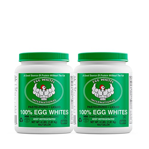 Liquid Egg White Protein - 2 Half Gallons