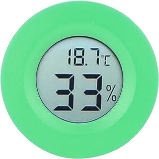 Inomhus, 50 - +70 ° C Fuktsäker hygrometer för kylskåp för displayskåp(green)