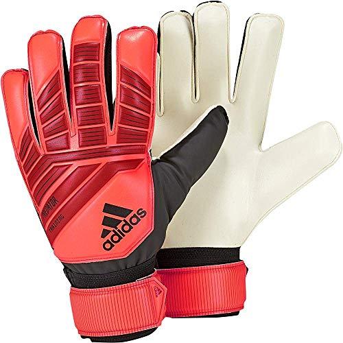 adidas Pred Trn Goalkeeper Gloves (W/O Fingersave), Unisex, Erwachsene, Active Red/Black/Solar Red, 4