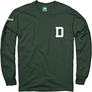 Ivysport Long Sleeve Cotton Adult T-Shirt, School Mascot Logo, Color, NCAA Colleges and Universities